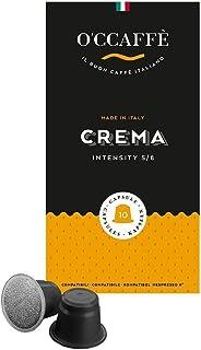 O'Ccaffè Crema Nespresso Compatible Café 200 Cápsulas 1000 g