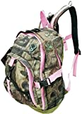 Explorer Tactical Pink Mossy Oak Realtree 17 Inch Day Pack Backpack Hiking Camping