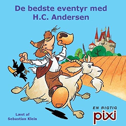 De bedste eventyr med H. C. Andersen audiobook cover art