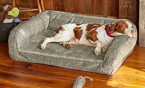 Orvis ToughChew Memory Foam Bolster Dog Bed