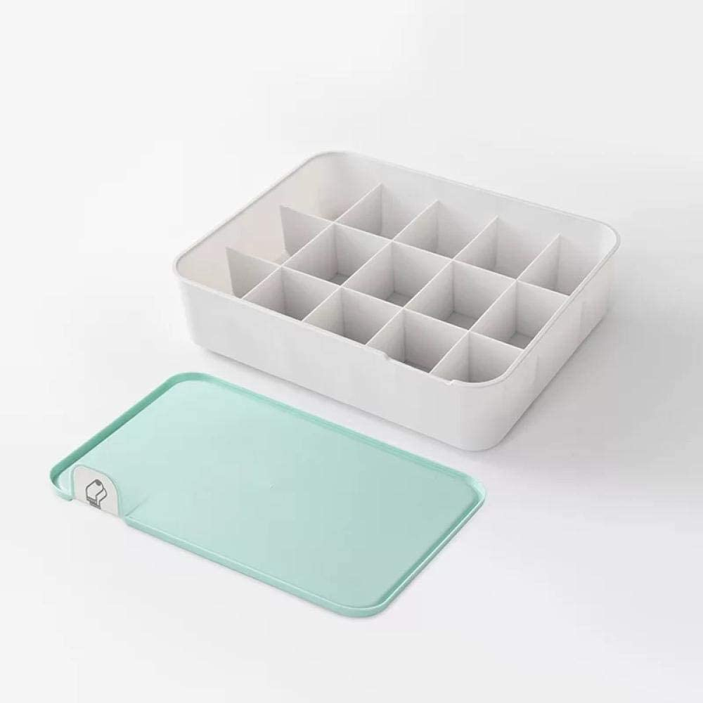 Underwear Storage Box 70% OFF Outlet with lid 1 Easy-to-use Wa Grids 15 10 Home