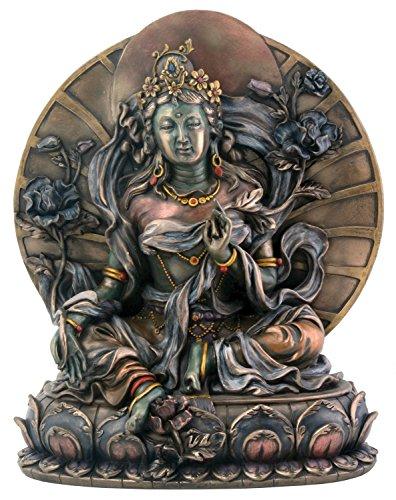 Green Tara - Collectible Buddhism Statue Figurine Buddha Sculpture