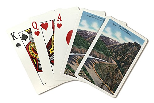 Montana - Scenic Drive Along The Beartooth Mountains on The Beartooth Highway (Playing Card Deck - 52 Card Poker Size with Jokers)