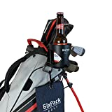 6ixPack Golf | Golf Bag Drink Holder, Golf Accessories for Men. Universal Clamp to Fit Golf Bags, Carts, Trolleys and Buggies. Cup Holder Fits All Types of Bottles, Cans, Coffee Cup Holder. Golf Gifts