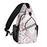 Best Sling Backpacks - MOSISO Sling Backpack,Travel Hiking Daypack Pattern Rope Crossbody Review