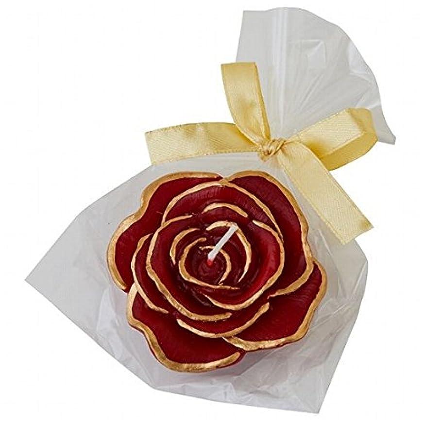 ワークショップ実業家ロバkameyama candle(カメヤマキャンドル) プリンセスローズ キャンドル 「ワインレッド」(A6390500WR)
