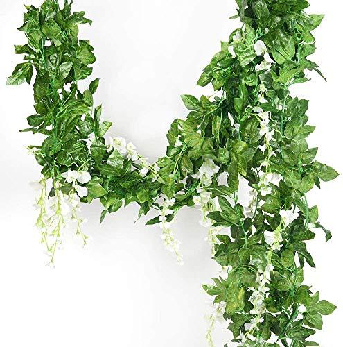 Guirnalda de 5 hebras de seda artificial de 91,44 cm, para decoración de boda, cocina, hogar, fiesta, etc.