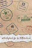 Reisetagebuch für die Flitterwochen: Hochzeitsreise-Tagebuch für die Urlaubsreise zum Ausfüllen | ca. DIN A 5, 108 Seiten, Softcover | inkl. Packliste ... | Tolles Geschenk fürs Brautpaar & Ehepartner - Flitterwochen Reisetagebücher