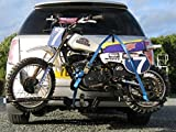TOW-BAR RACK FOR MOTOCROSS DIRT BIKES 50CC-80CC , PIT DIRT BIKES UP TO 110CC. EASY FIT AND REMOVAL. **MAINLAND...