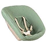 Ukje - Funda Para Tronas de Bebe Stokke Newborn 1 Pieza Funda Silla OEKO TEX® Standard 100 Funda Cojin Algodón Práctico Fácil de Limpiar Verde Jade