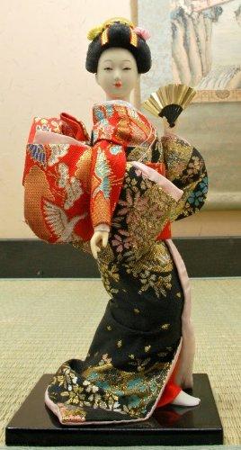 Collection Poupee Figurines Japonaises/ Poupée: Geisha/Maiko 9 inch