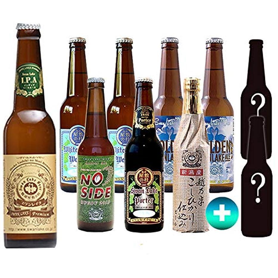 鳩執着探検クラフトビール スワンレイクビール 2019 秋 IPA サンキューセット