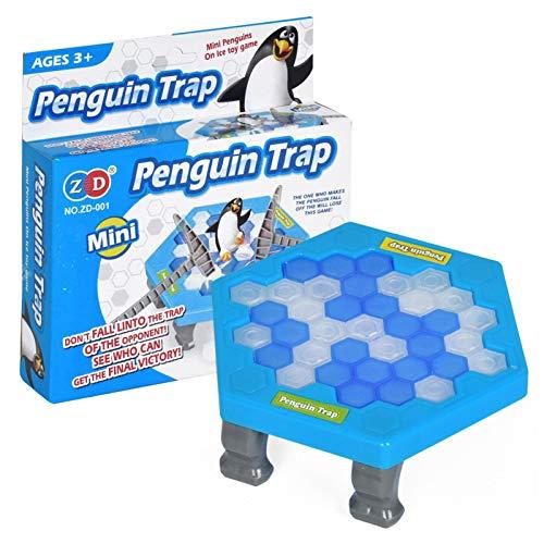 Juego De Mesa De Trampa De Pingüinos Bloque De Hielo Trampa De...