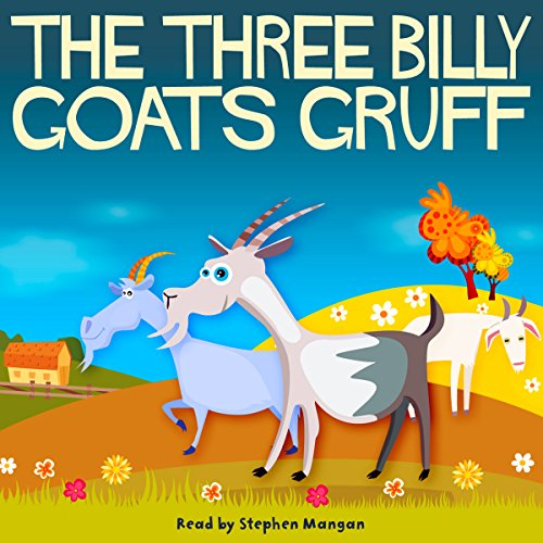 The Three Billy Goats Gruff audiobook cover art