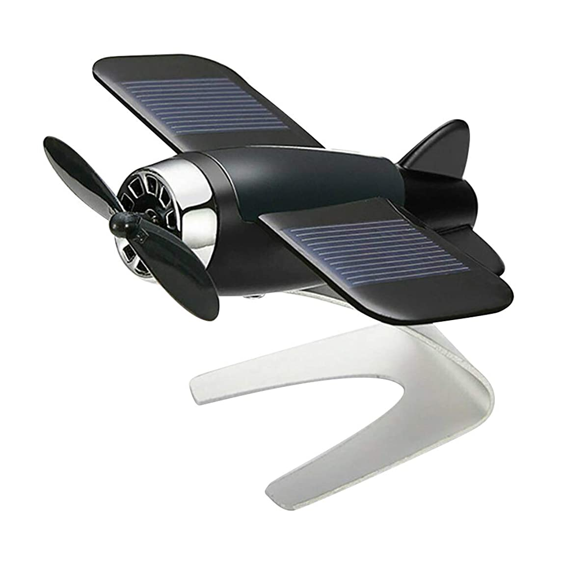 教える苦しみ収穫Symboat 車の芳香剤飛行機航空機モデル太陽エネルギーアロマテラピー室内装飾