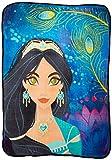 Disney's Aladdin, 'Bliss' Micro Raschel Throw Blanket, 46' x 60', Multi Color