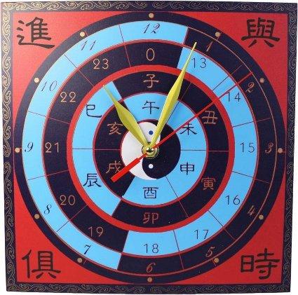 L par Horloge – Temps qui passe/Succès Entrent. Taille 24 cm x 24 cm, batterie, n'est pas inclus.. un cadeau parfait – Idéal pour les anniversaires, Noël...