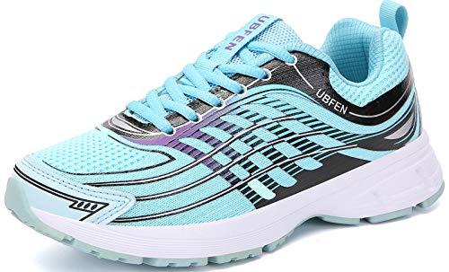UBFEN Laufschuhe Herren Damen Turnschuhe Fitness Schuhe,40 EU,Minzgrün