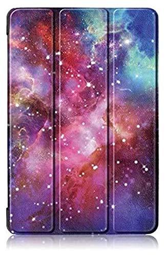 GYY Accesorios De Pestañas para Huawei MediApad M5 10.0 Lite Bah2-W19 / L09 / W09, Funda De Tableta Plegable Pintada De Flores para Huawei M5 Lite 10 10.1 (Color : E)