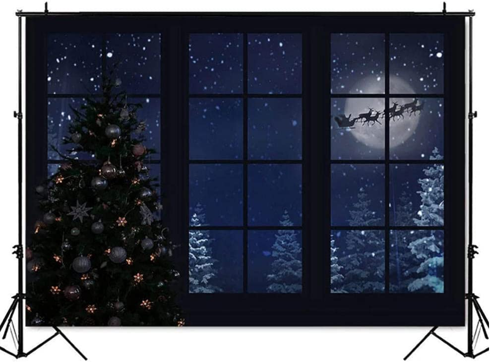 Neevop Max 63% OFF 5X3Ft Vinyl Winter Forest Ranking TOP10 Backdrop for Photography Studio