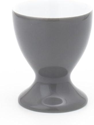Preisvergleich für Kahla Pronto Colore Eierbecher mit Fuß, Eierhalter, Frühstücksei, Ei, Grau, 207401A70705X