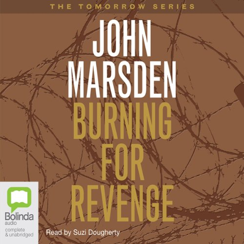 Burning for Revenge cover art