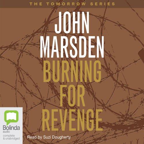 Burning for Revenge audiobook cover art