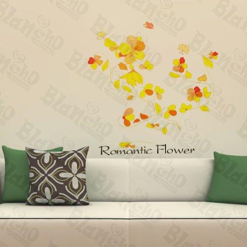Patchs à fleur de Bonheur – Stickers muraux Stickers Décoration intérieure