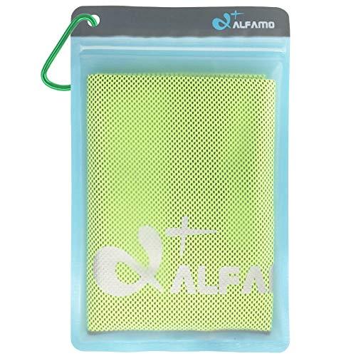 Alfamo kühlendes Handtuch für Sport,...