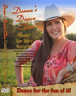 Donna's Dance Class - Country Line Dance Instruction DVD