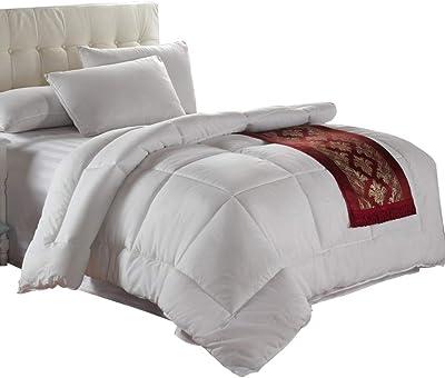 best cheap 51152 f226e Amazon.com: Royal Bedding King Size Down-Comforter 500 ...