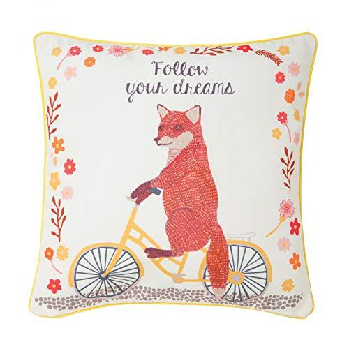 Sass & Belle Volg je dromen vos op fiets kussen