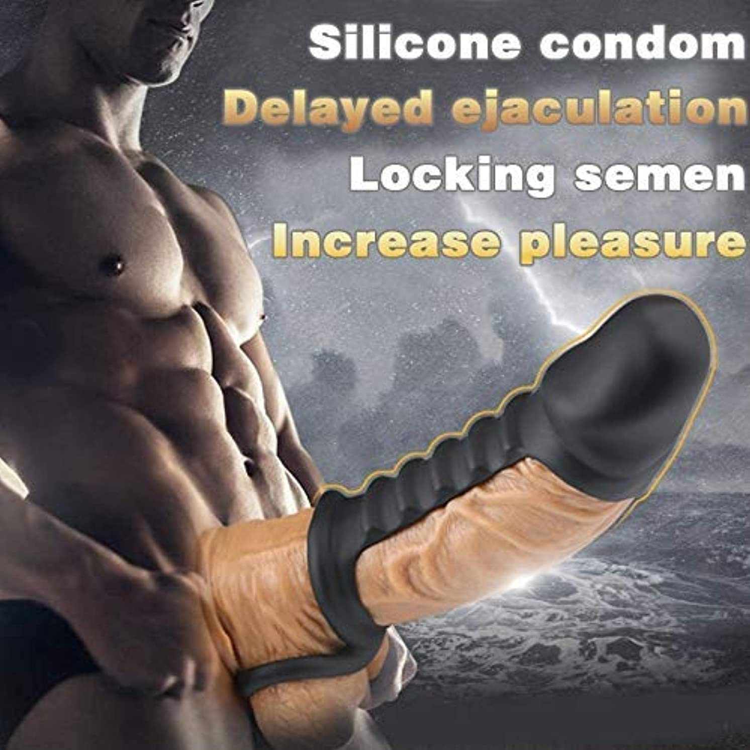 JIA-Bing Male Condom Longer Bold Lock fine delay