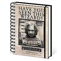 【予約商品】 HARRY POTTER ハリーポッター (映画公開20周年) - Wanted Sirius Black/ノート 【公式/オフィシャル】