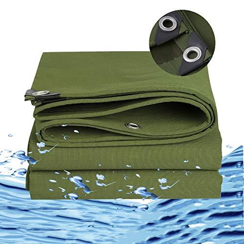 YYFANG Lona De Protección, Resistente Al Desgaste E Impermeable Adecuado for El Sitio De Construcción De Jardines Lona, 19 Tamaños (Color : Green, Size : 2m)