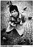 LEONARD COHEN Poster Amsterdam 1972