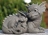 MystiCalls by Mayer Chess Gartendrache Mutter mit Kind! Garten! Figur! Drache! Liebe! Family!