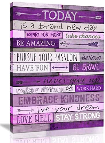 Inspirational Wall Art With Office Wall Decor For Bedroom Teen Girl Wall Pictures For Living product image