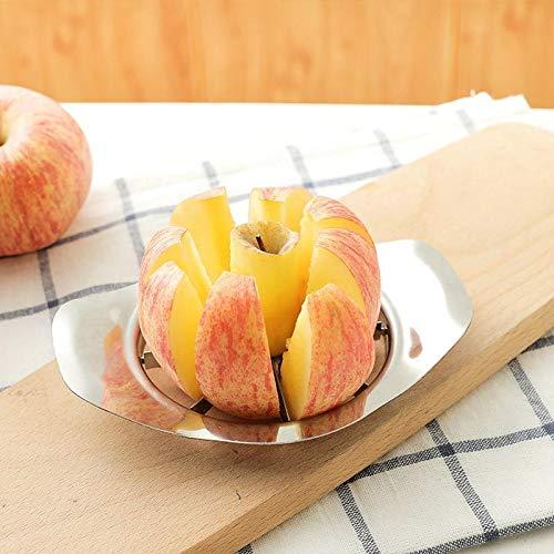 Pamura - SLIZZER - Apfelschneider - Edelstahl - Küchenhelfer - Küchengadget - Apfelentkerner