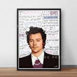 Harry Styles INSPIRED Poster/Print