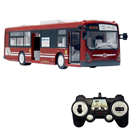 fisca RC Truck Remote Control Bus, 6 CH 2.4G Car Electronic...