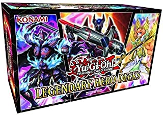 yugioh legendary heroes decks
