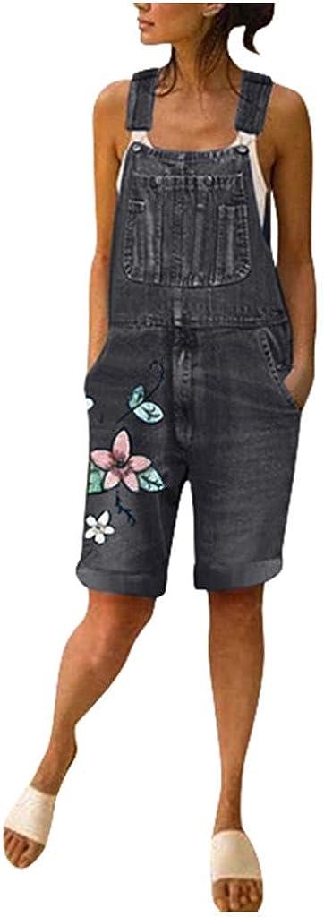 Baggy Overalls for 1 year warranty Women Tie-Dye Denim Bombing free shipping Long Bi Pants Rompers Bib