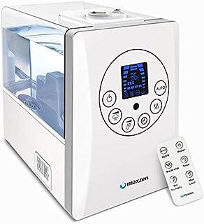 ハイブリッド式加湿器 maxzen KS-MX601-W ホワイト(木造8.5畳/コンクリ14畳まで)