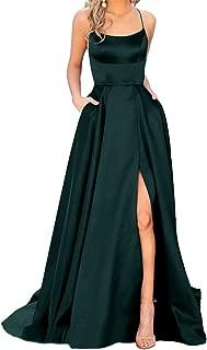 black dresses with slits