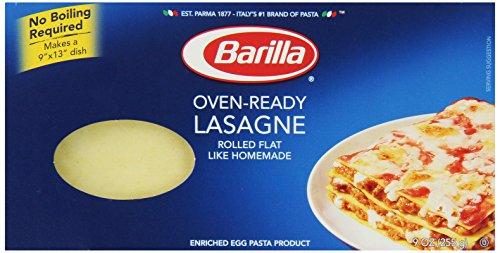 Barilla Pasta, Oven-Ready Lasagne, 9 oz