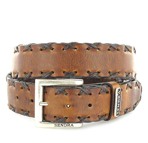 Sendra Bottes Ceinture 7336 Changement de ceinture en cuir ceinture (en différentes couleurs) - Marron - 100