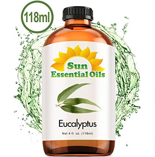 Eucalyptus Essential Oil (Huge 4oz Bottle) Bulk Eucalyptus Oil - 4 Ounce
