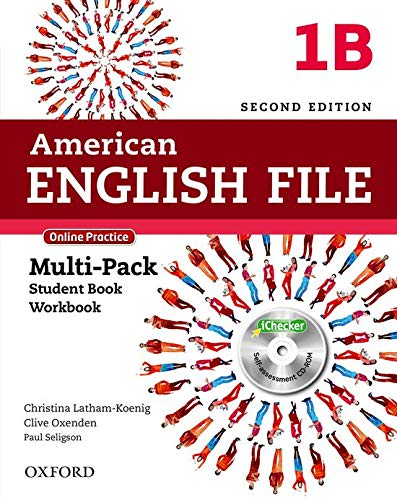 American English File 1B - Multipack With Online Practice e Ichecker -02 Edição: With Online Practice and iChecker