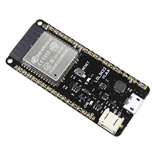 Microcontroller Board LOLIN32 mit ESP32 240MHz Dual-Core, WLAN, Bluetooth/BLE, 4MB Flash, Ladeschaltung, Arduino IDE kompatibel